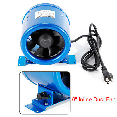 350CFM Digital Mixed Flow Inline Duct Booster Fan Hydroponic Extractor Blower