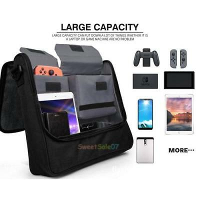 2 in1 Travel Messenger Carry Storage Bag for Nintendo Switch Console Accessories