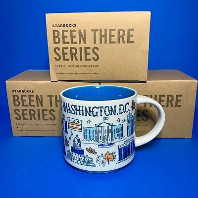 STARBUCKS City Mugs - WASHINGTON DC - BEEN THERE SERIES - *NEW RELEASE*