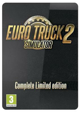 Eurotruck 2 Simulator Complete Limited Edition PC NEUF SOUS BLISTER