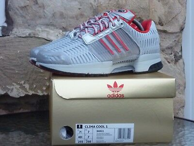 Adidas X Coca Cola Clima Cool UK7 Diet Cola Silver Red Micropacer Zx 8000