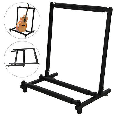 Details about  UK 3 Way Multi Guitar Stand Foldable Acoustic Electric Bass UK