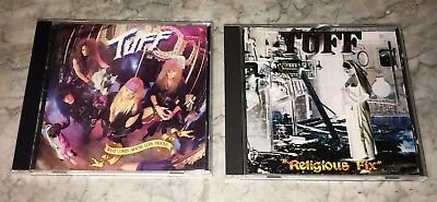Lot (2) Tuff What Comes Around Goes Around 1991 Religious Fix 1995 Hair Metal