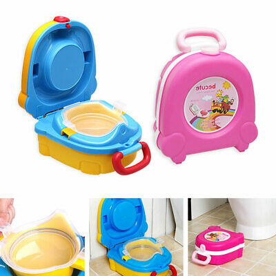 Baby Toddler  Kids Training Potty Children Toilet Portable Training Seat UK