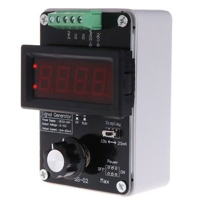 Adjustable Current Voltage Analog Simulator DC 0~10V 0~20mA Signal Generator