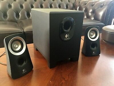 LogiTech Z313 speakers with sub woofer for BIG bass!