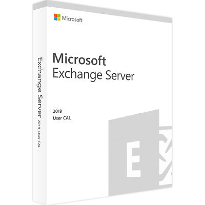 Microsoft Exchange Server 2019 Std 1 User CAL - Zugrifflizenzen