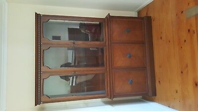 Antique furniture display cabinet perfect condition