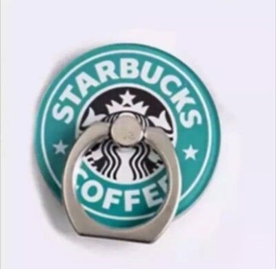 Finger Grip Ring Holder 360° Rotating Stand  Starbucks Universal Phone UK Seller