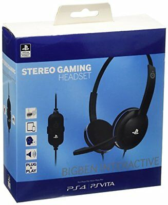 SEHR GUT: PS4 Stereo-Headset V2 Offizielle PlayStation Lizenz PS4/PC/PS Vita OVP