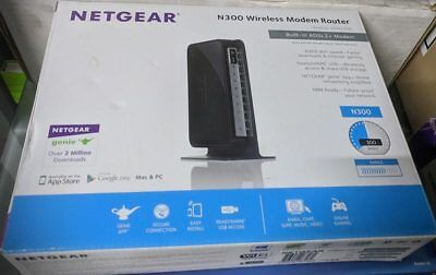 NETGEAR DGN2200 N300 Wireless ADSL2+ Modem Router in box