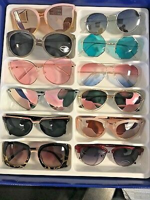 Job Lot 24 pairs of assorted sunglasses - Car Boot - Resale - Wholesale -REF180