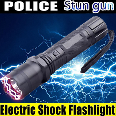 stun gun Self Defense 3 In 1 Led Flashlight High Voltage Electric Shock