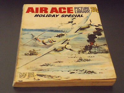 AIR ACE PICTURE LIBRARY,HOL SP,1974 ISSUE,V GOOD FOR AGE,44 yrs old,RARE COMIC.