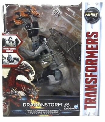 Transformers The Last Knight Premier Edition Leader Class Dragonstorm by Hasbro
