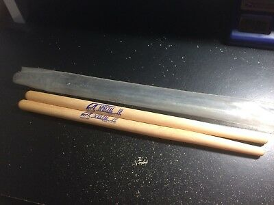L.A. SPECIAL 10 Wooden Tip Made in USA Hickory Drum Sticks NEW FREE SHIPPING