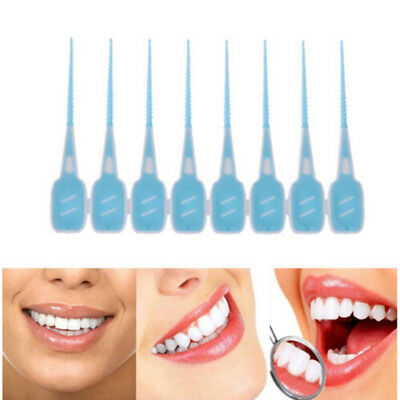 20PCS Teeth Oral Care Clean Interdental Floss Brushes Dental Care Tool YI