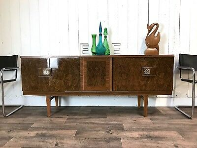 Striking Mid Century Sideboard, Retro drinks/cocktail cabinet by Beautility 60's