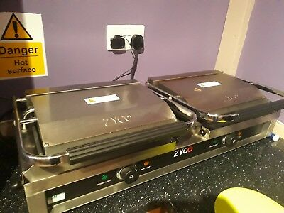 Large Double Roller Commercial Panini Machine pick-up Burnley