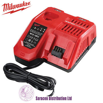 Milwaukee M12-18Fc Rapid Charge Fast Charger M12- M18 Li-Ion