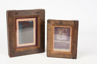 Vintage Wooden Contact Printing Frame for 6,4x9cm and 8,3x11cm aprox