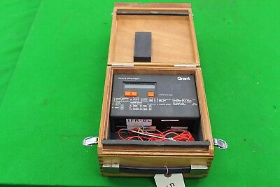 Grant Squirrel Meter / Logger SQ32-16U in Wooden Case