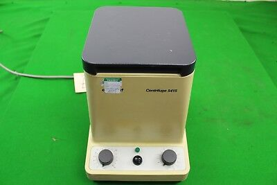 Eppendorf 5415 Centrifuge Laboratory Equipment w/ 18 place rotor