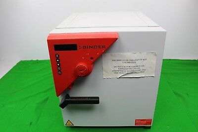 Binder ED23 Drying Oven Heating Thermal Sterilisation Maximum 300 Degrees Lab