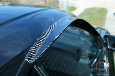 Window Wind - Rain Deflectors from Carbon Fiber for TOYOTA Celica ST 182, ST 183