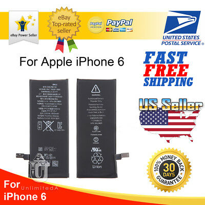Battery Replacement 1810mAh Li-Ion Battery with Flex Cable For Apple iPhone 6