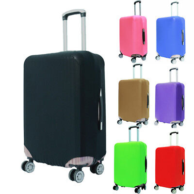 """18-30"""" Elastic Luggage Suitcase Cover Travel Trolly Protective Dustproof Bag"""