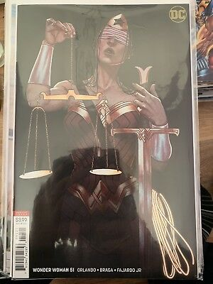 WONDER WOMAN #51, VARIANT, New, First print, DC UNIVERSE (2018)
