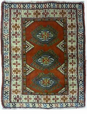 Tapis Persan Traditionnel Oriental hand made 80 cm x 62 cm  N° 52