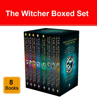 Witcher Series Andrzej Sapkowski 6 Books Collection Set Young Adult pack NEW