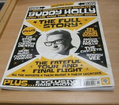 Vintage Rock magazine presents Buddy Holly & the Day the Music Died 60th Tribute