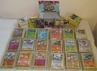 Lot de 105 Cartes Pokemon Françaises Neuves sans Doubles - Editions XY + 7 Rares