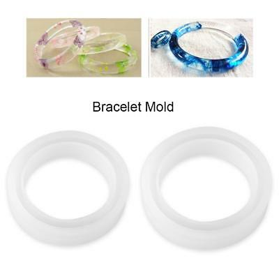 Silicone Bracelet Mold Making Resin Casting Jewelry Mould Hand DIY Craft Tool