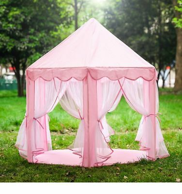 Play Tent House Portable For Kids Outdoor Indoor Castle Small Folding Playhouse