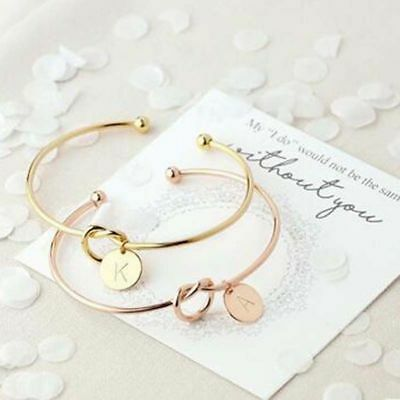 Letter Bracelet Rose Gold Silver Alloy Snake Chain For Women Personality Jewelry