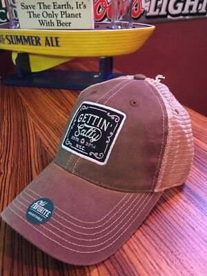 Gettin Salty Old Favorite Brown Legacy Truck - Firefighter Cap - Firefighter Hat