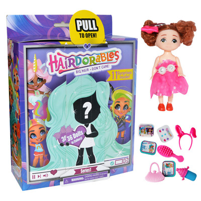 UK Hairdorables Doll Collectable Surprise Doll Series 1 Mystery Doll Kids Toys