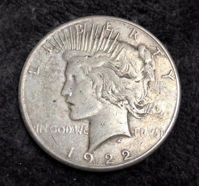 1 One Dollar Münze Silber Silbermünze Usa Peace Dollar 1922