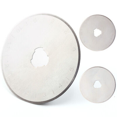 10x 45mm DAFA Rotary Cutter Spare Replacement Blade Fits All Cutters Incl Olfa