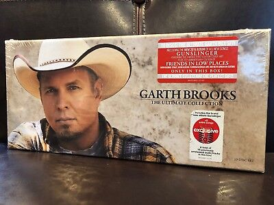Garth Brooks - The Ultimate Collection - 10 Disc Set - CDs - Music - **SEALED**