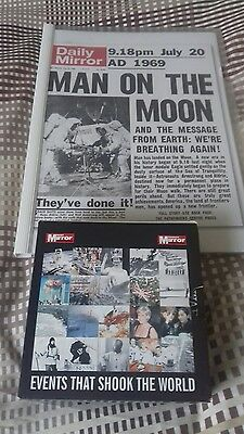 The Daily Mirror Events that changed the world 20 cds c/w each headline covers