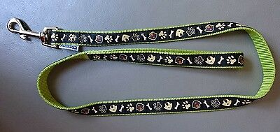 Green/black dog lead by Ancol 36""