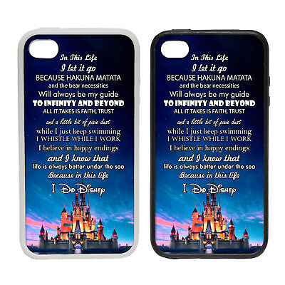 In This Life, I Do Disney - Rubber or Plastic Phone Case #1 Inspire Land Wishes