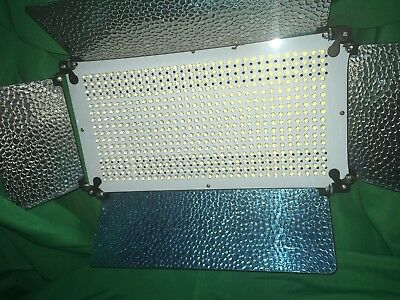 VIDEO SET LIGHTS 2x 500 LED light Panel With Dimmer Switch Led Video lighting