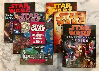 Star Wars The Essential Guide Lot Characters, Chronology, Planets, Droids, Force