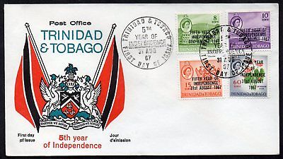 Trinidad and Tobago 1967 5th Year of Independence First Day Cover